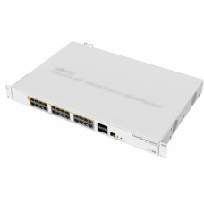 MIKROTIK Cloud Router Switch CRS328, 24x Gbit PoE LAN, 4x SFP+, vč. L5